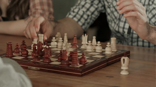 Thumbnail for Two Men Play Chess