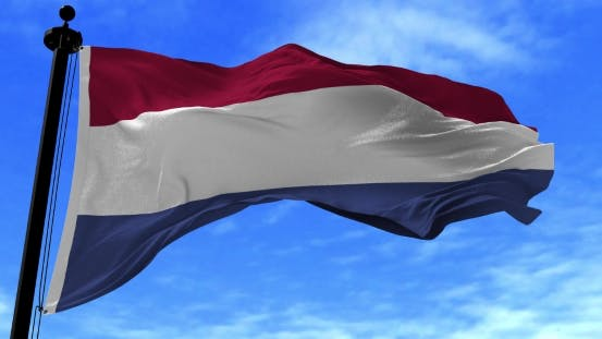 Thumbnail for Netherlands Flag in the Wind