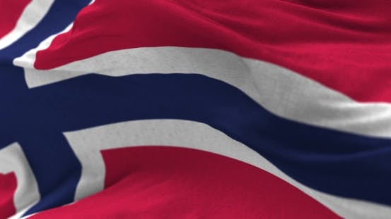 Thumbnail for Norway Flag in the Wind