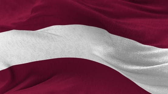 Thumbnail for Latvia Flag in the Wind