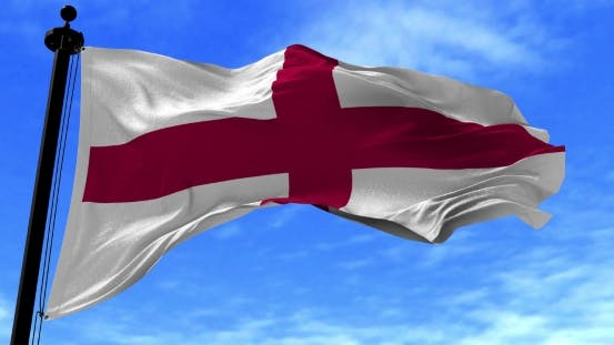 Thumbnail for England Flag in the Wind