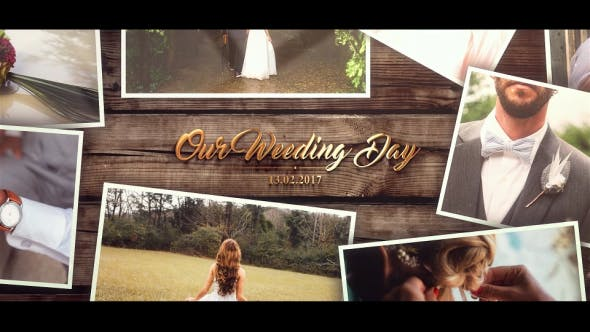 Thumbnail for Wedding Gold Slideshow