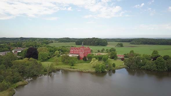Thumbnail for The Red Tranekaer Castle Langeland Denmark