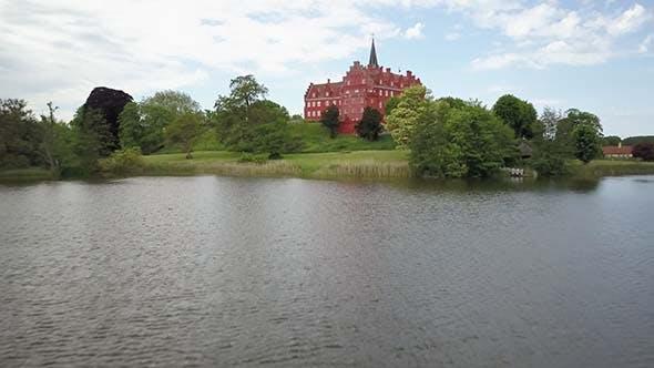 Thumbnail for Denmark, Langeland, Tranekaer, Tranekaer Slot Castle, Oldest Inhabited Building