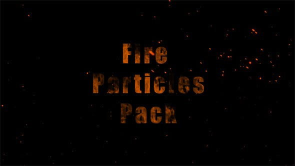 Thumbnail for Fire Particles Pack
