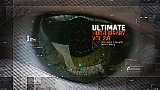 HUD Ultimate Library Pack 3 / Ui Future Space Package / Cyber Space Screens