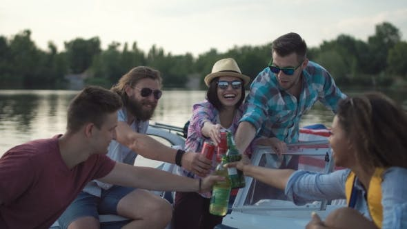 Thumbnail for People Drinking on Pier