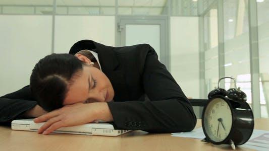 Thumbnail for Sleeping Businesswoman