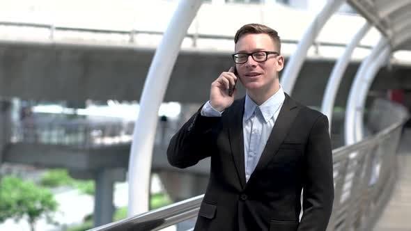 Mobile Phone Conversation