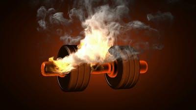 Burning Dumbbell