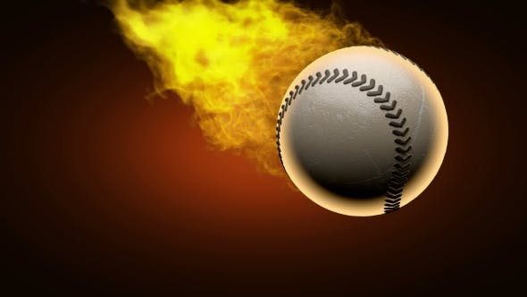 Thumbnail for Burning Baseball Ball