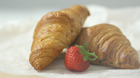 Thumbnail for Strawberry and Croissants