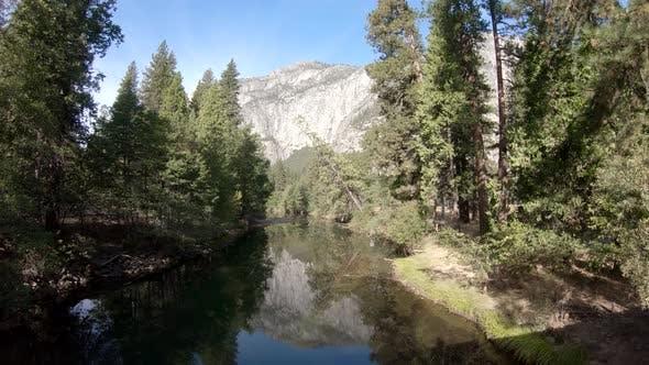 4K Blick auf den Yosemite-Nationalpark, Kalifornien, USA