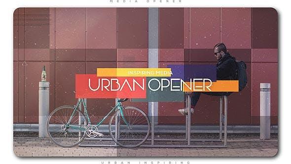 Thumbnail for Urban Inspiring Media Opener | Slideshow