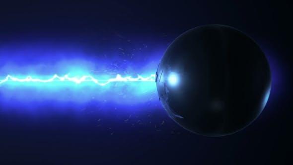 Blue Laser Destroys the Sphere