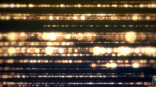 Gold Particle Light
