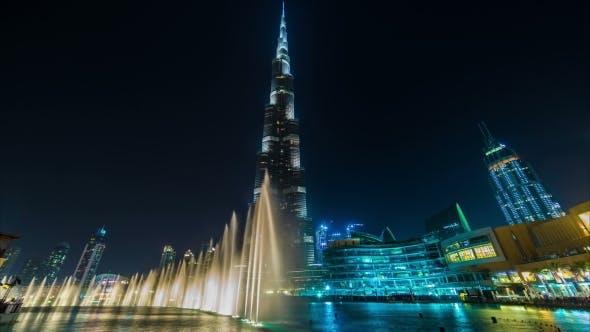 Thumbnail for Nights Dubai Dancing Fountain near Burj Khalifa