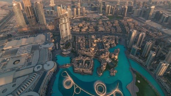 Dubai, Overlooking Marina District
