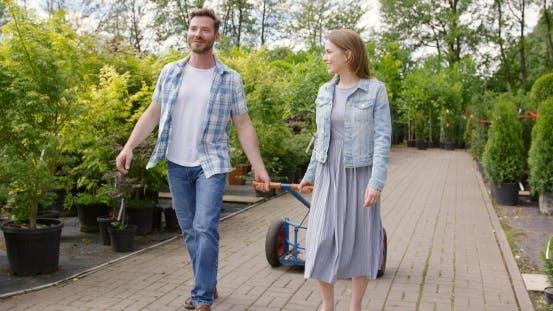 Thumbnail for Gardeners Pulling Wagon
