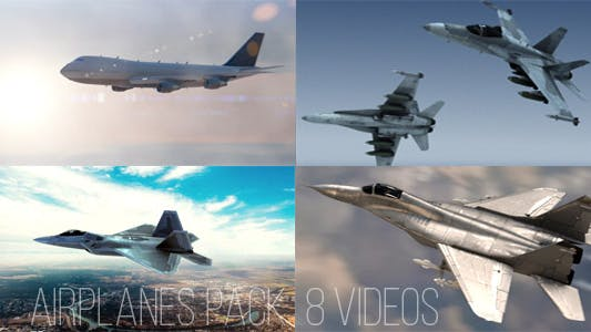 Thumbnail for Airplanes Pack