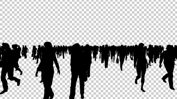 Thumbnail for Silhouettes of Shopping People