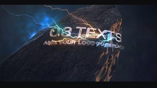 Thumbnail for Energy Intro Logo - Element 3D