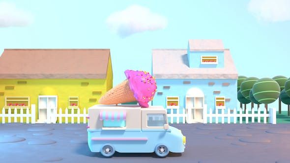 Thumbnail for Toon Ice Cream Truck