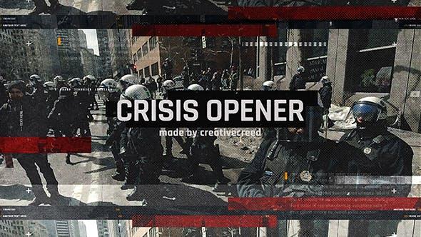 Thumbnail for Ouverture de crise/Diaporama dynamique Grunge/Émeute et rébellion/Révolte et protestation/Cataclysme