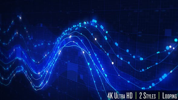Thumbnail for Data Graph on a Computer Screen 4K