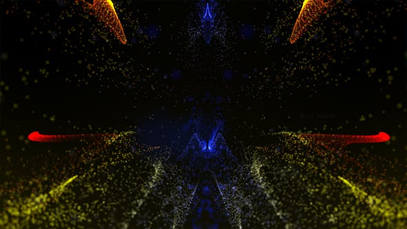 Thumbnail for Abstract Particles Background