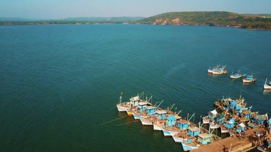 Thumbnail for Indian Fishing Port, Chapora