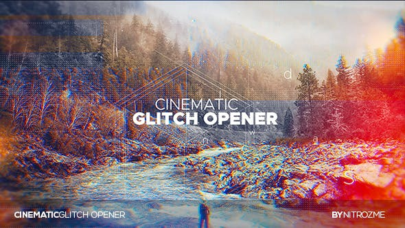 Thumbnail for Cinematic Glitch Opener