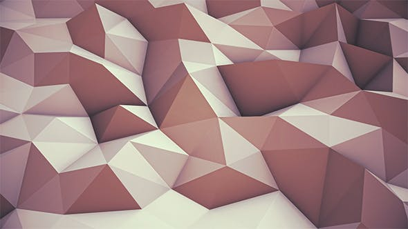 Cover Image for Gold Low Poly Background