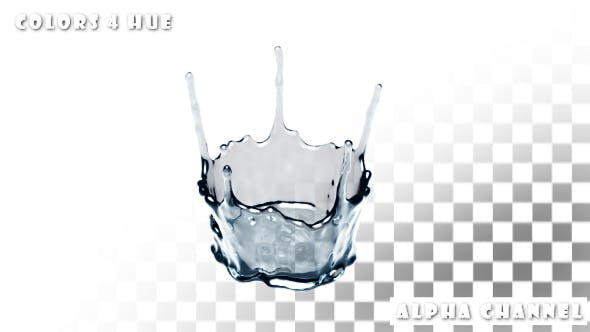Thumbnail for Water Drop Splash