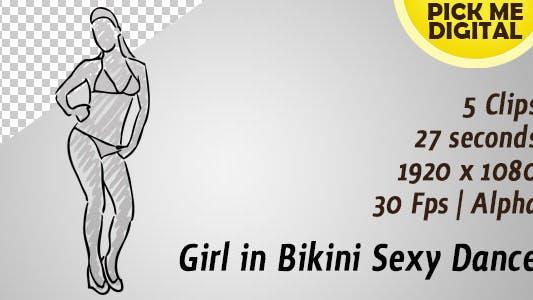 Cover Image for Girl in Bikini Sexy Dance