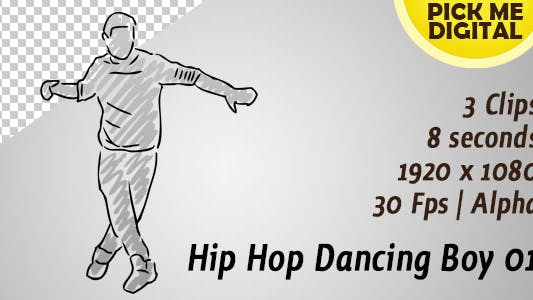 Thumbnail for Hip Hop Dancing Boy 01
