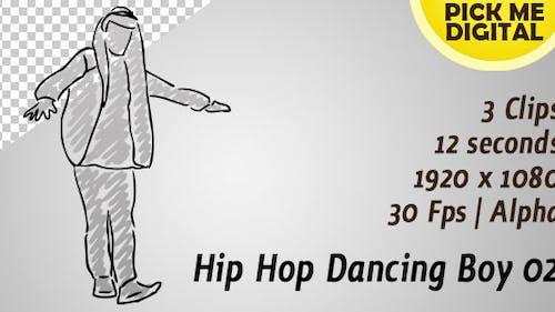 Hip Hop Dancing Boy 02