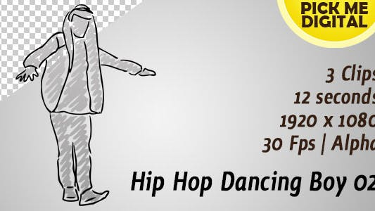 Thumbnail for Hip Hop Dancing Boy 02