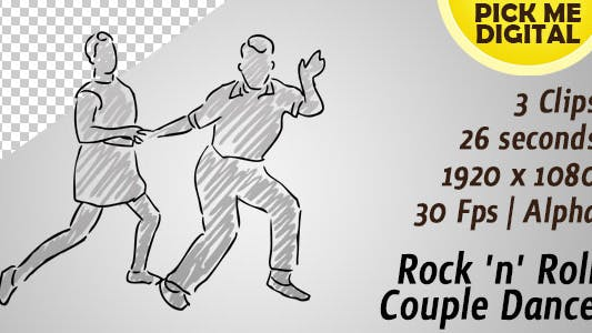 Cover Image for Rock n Roll Couple Dance