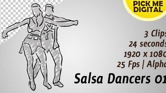 Thumbnail for Salsa Dancers 01