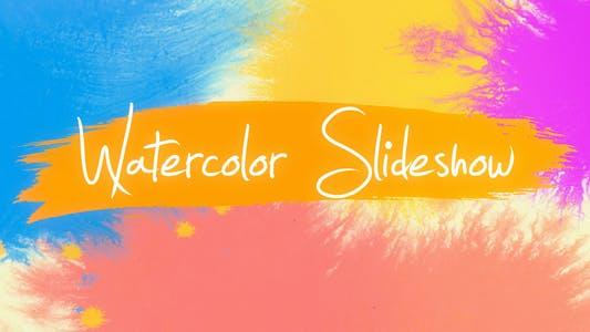 Thumbnail for Watercolor Slideshow