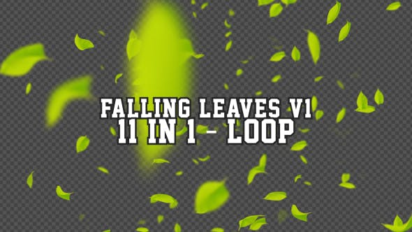Thumbnail for Falling Leaves V1 11 in 1