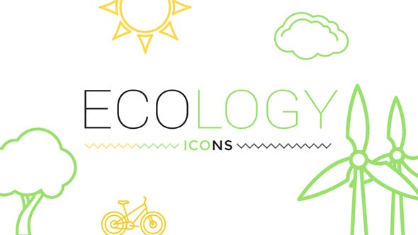 Thumbnail for Ecology Concept Icons