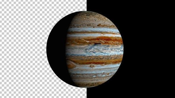 Thumbnail for Spinning Jupiter
