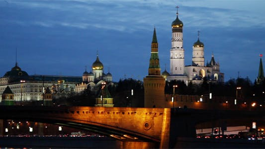 Thumbnail for Moscow Kremlin Night View