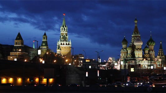 Cover Image for Moscow Russia Night View
