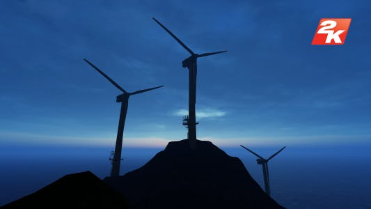 Thumbnail for Wind Energy Tribune Silhouette