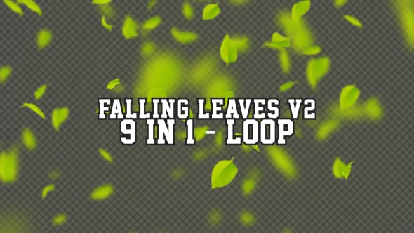 Falling Leaves V2 9 in 1