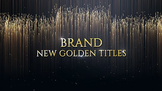 Thumbnail for Luxury Golden Titles