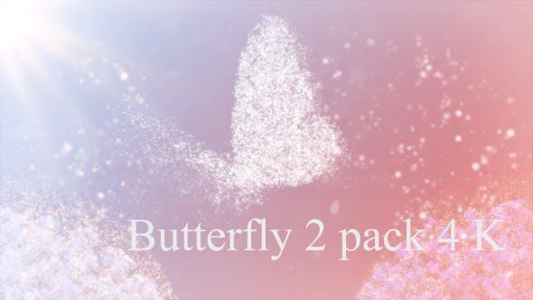 Schmetterling fliegen langsam 4K
